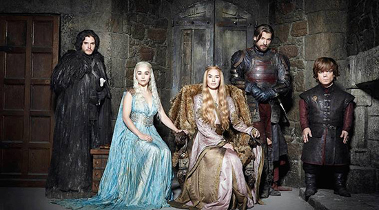 Game of Thrones main cast