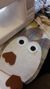 dorrstop owl sewing