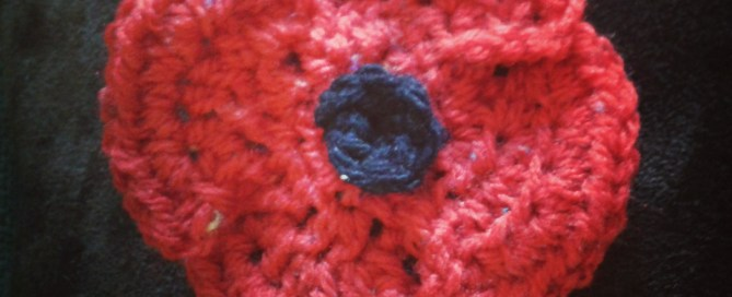 Crochet poppy pattern