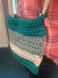 stripy bag natura xl just cotton