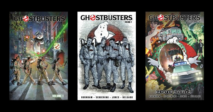 ghost busters graphic novel series review tween and YA reads