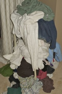 pile of laundry