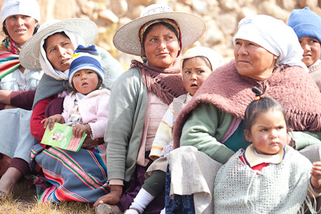 Bolivian mothers