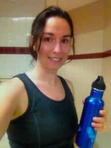 Joy after workout
