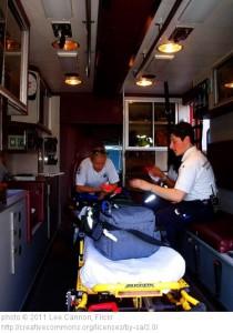EMT ambulance stretcher