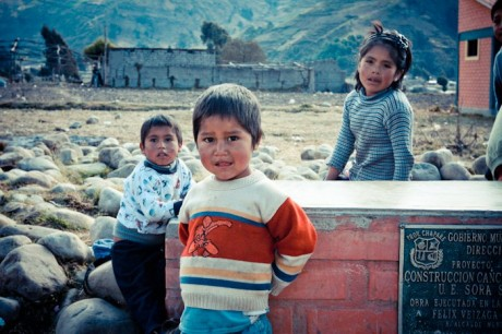 Bolivian children