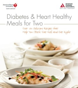 cover of Diabetes & Heart Healthy Meals for Two