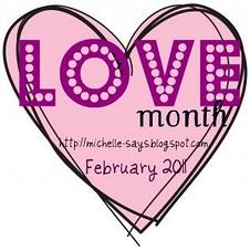 Love Month graphic
