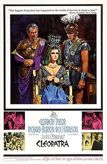Cleopatra (1963 film) poster