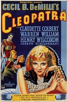 Cleopatra movie poster