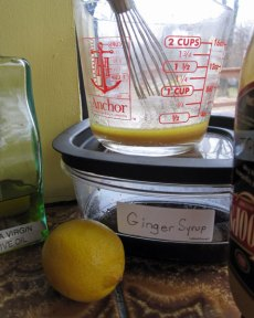 Ginger Lemon Salad Dressing
