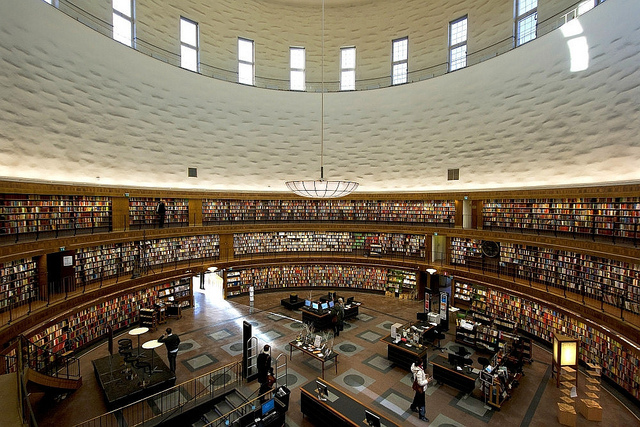 photo of Stockholm Public Library