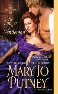 cover of No Longer a Gentleman by Mary Jo Putney