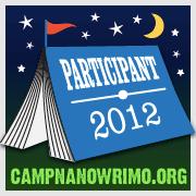 Camp NaNoWriMo badge