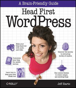 cover of Head First WordPress by Jeff Siarto