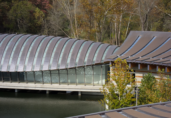 photo of architecture at Crystal Bridges Museum of American Art