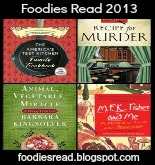 logo for Foodies Read 2013