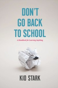 cover of Don't Go Back to School by Kio Stark