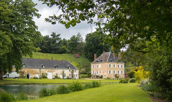house and outbuilding Le Jardin du Plessis Sasnieres