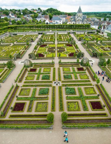 potager at Villandry