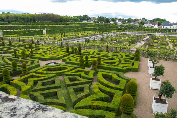 "photo of knot ""love gardens"" at Villandry"