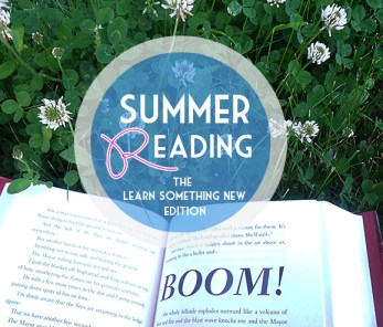 Logo for Learn Something New edition of the Bloggers Recommend Summer Reading Series