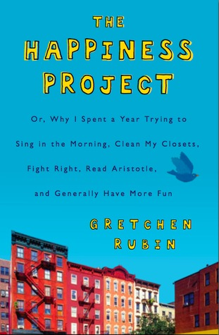 cover of The Happiness Project by Gretchen Rubin