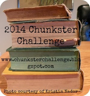logo for the 2014 Chunkster Reading Challenge
