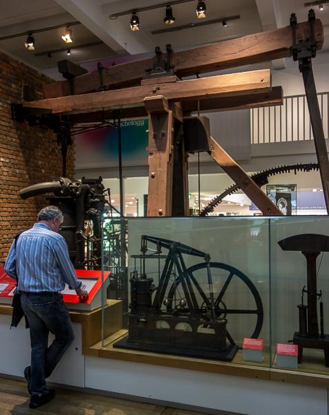 Boulton and Watt engine, Science Museum, London