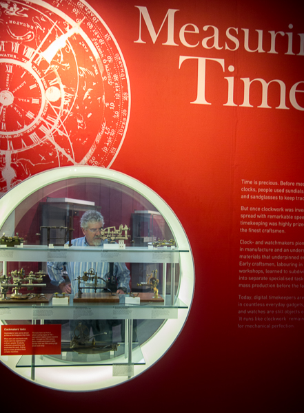 Measuring Time exhibit, Science Museum, London