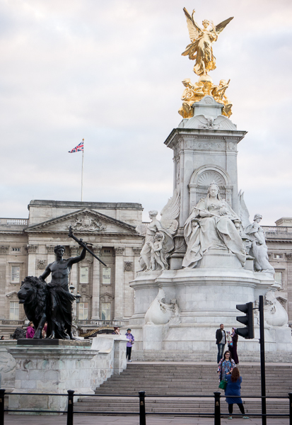 The Victoria Memorial, London