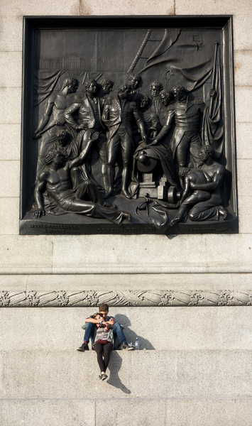Base of Nelson's Column