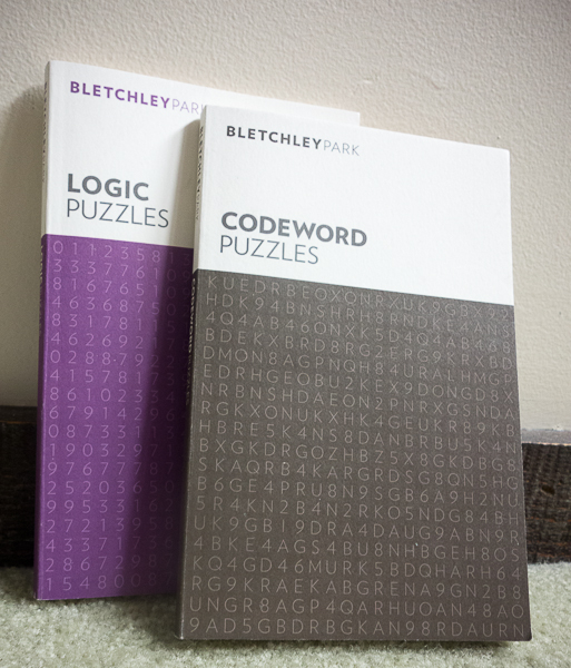 Puzzle books from Bletchley Park