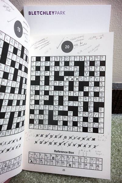 Codeword Puzzles from Bletchley Park