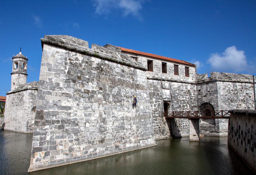 Castillo de la Real Fuerza, Plaza  de Armas, Havana, Cuba