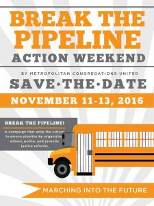 Save the Date, Break the School to Prison Pipeline