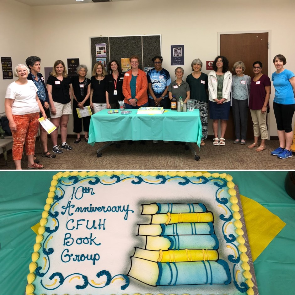 10th Anniversary CFUH Book Group