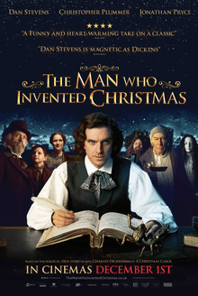 The Man Who Invented Christmas film poster