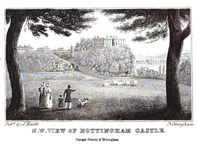 Nottingham Castle (1840)