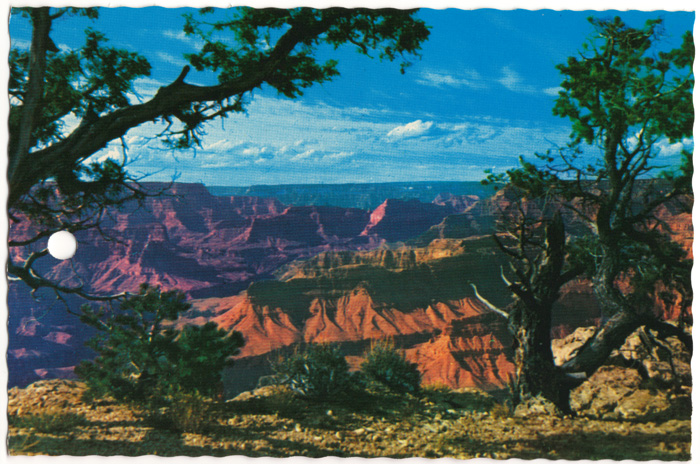 Grand Canyon - front of postcard