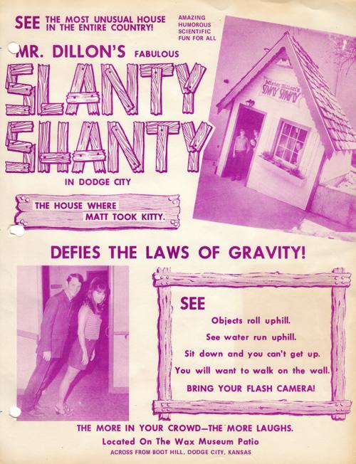 Slanty Shanty flyer