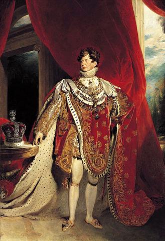 Coronation Portrait of George IV