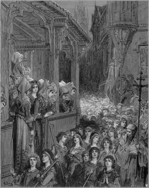 Gustave Dore: Gyermekek keresztes-hadjárata