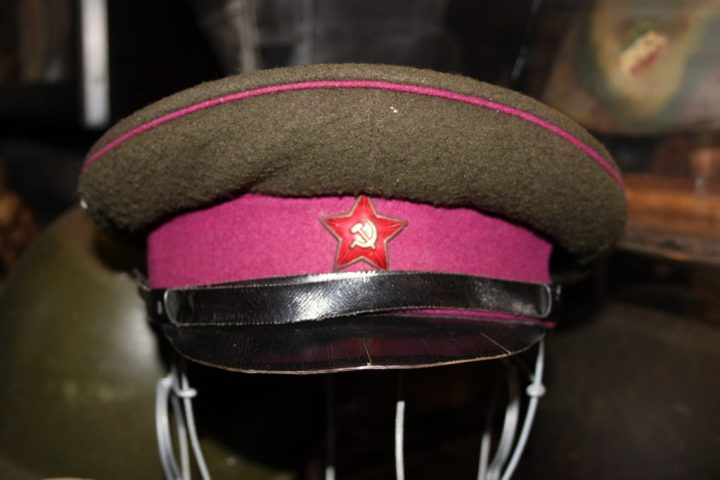Soviet-era military hat from the former USSR