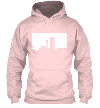 Jozi Streets Pink-White Hoodie