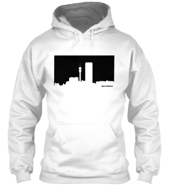 Jozi Streets White Hoodie