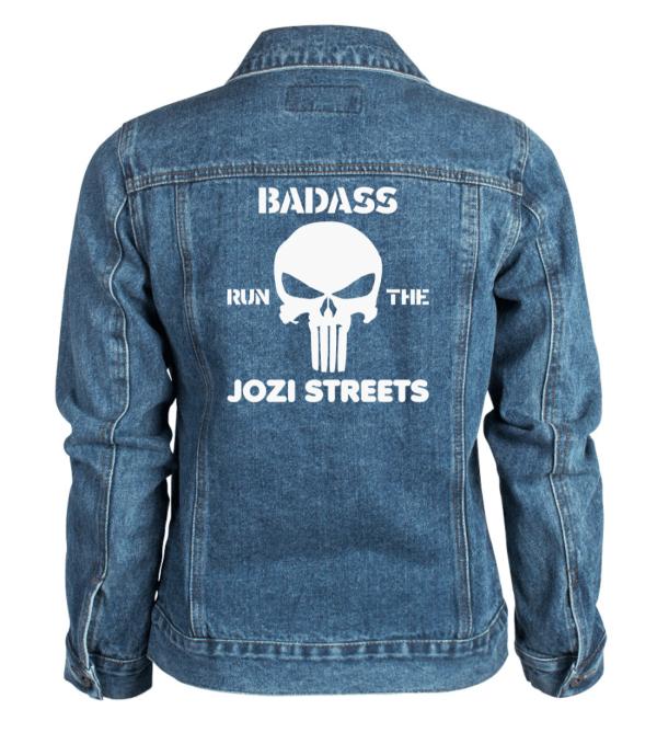 Badass Runs the Jozi Streets Denim