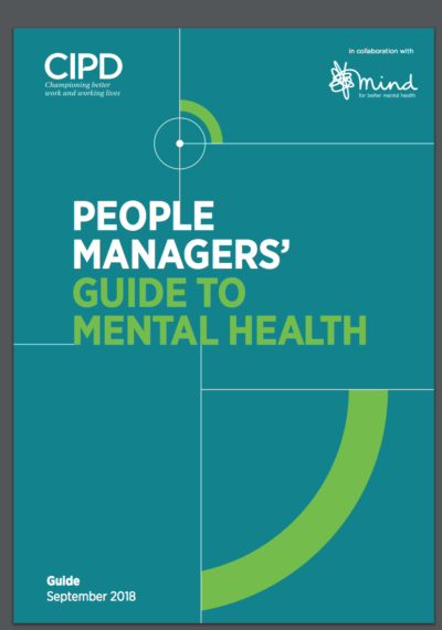 People Managers' Guide to Mental Health cover