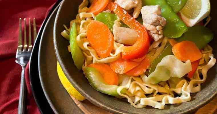 Stir Fried Egg Noodles {Pancit}