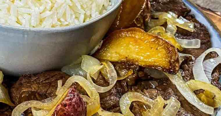 Philippine Bistek {Beef Steak}